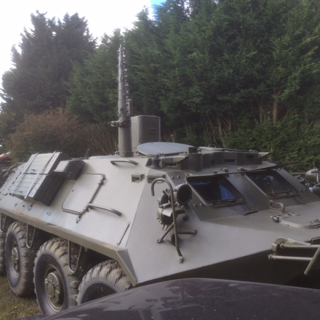 Russian 8x8 wheeled BTR-60 Communications Vehicle For Sale (UK)