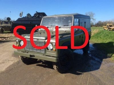 LAND ROVER 110 DEFENDER SOLD
