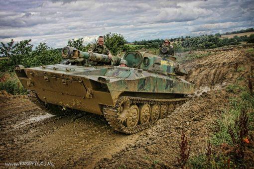 Tanks-Alot Full Monty Tank Driving Experience Russian 2S1 Gvozdika
