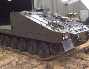 CVRT Shielder Stormer Flatbed For Sale