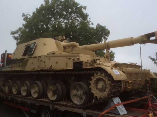 Russian 2S3 Akatsiya Self Propelled Gun For Sale (Tank)