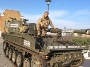 Filming Chinese Top Gear With Our Tank