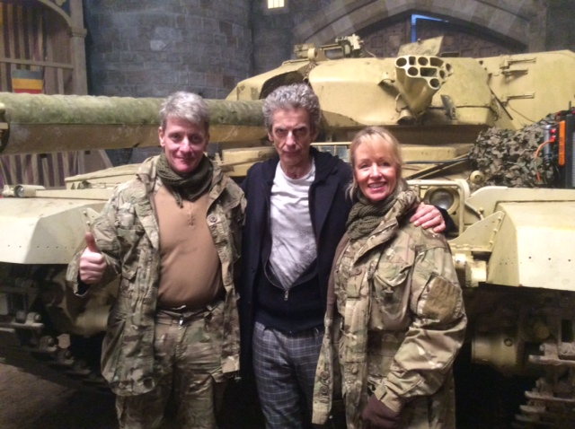 Filming The New Dr Who Series with our Tank