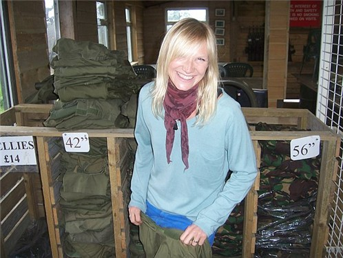 Jo Whiley Crushes Scot Mills Car