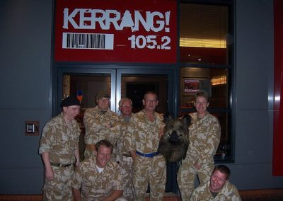 Kerrang Radio Tank Limo