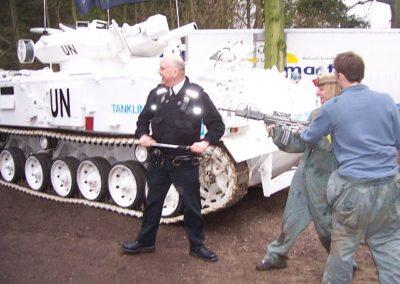 Koch Media Tank Limo & Paintballing