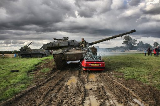 Private Tank Car Crush Driving Experience Tank Crushing Car