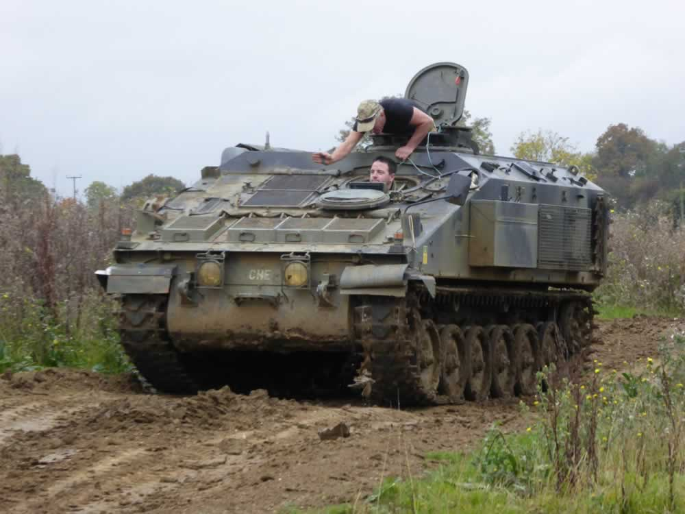 Stormer Starsteak Deluxe Tank Driving Experience