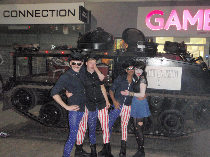 Battlefield 4 Launch on Halloween