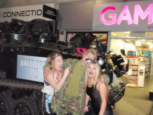 Tank Hearse Battlefield 4 Launch on Halloween