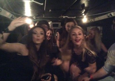 Tank Limo Does Freshers Week in Chester