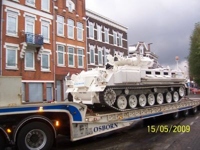 Tank Limo Goes To Holland