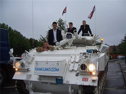 Tank Limo Prom Night