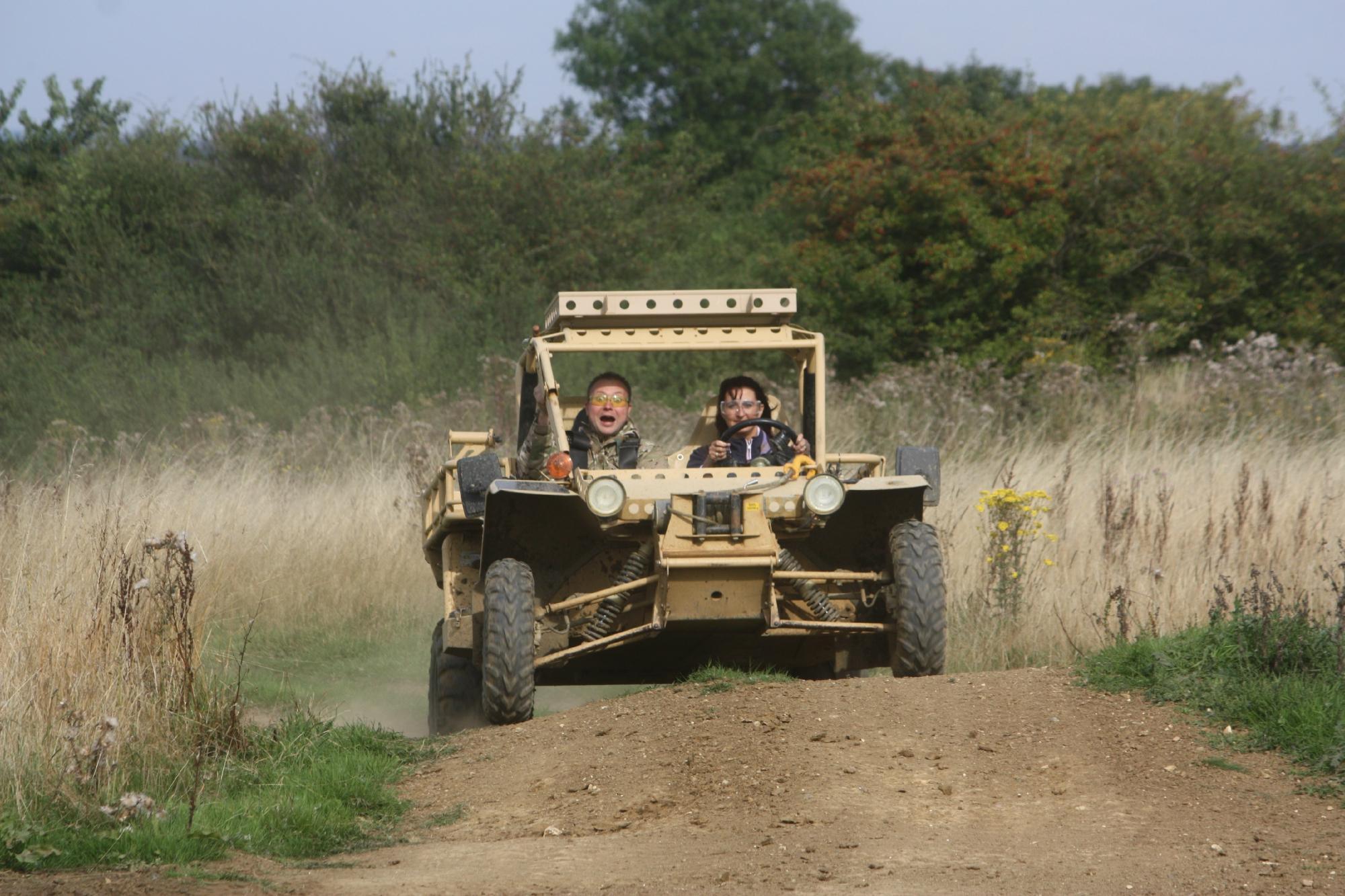 Tanks-Alot Half Day Tank Driving Experience Springer ATV