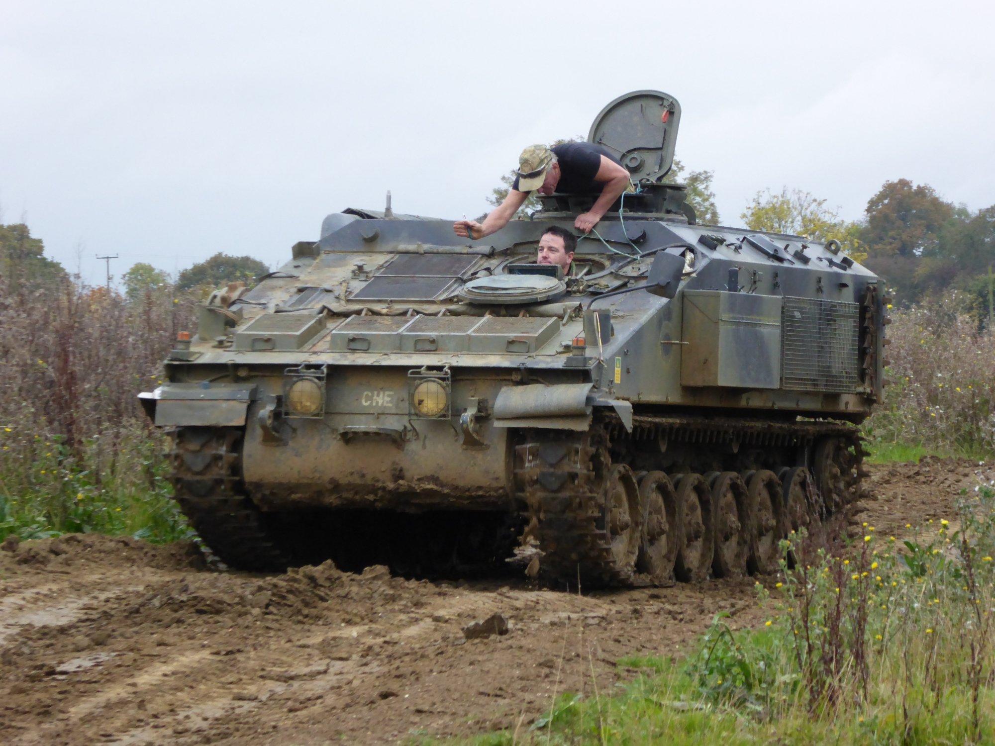 Tanks-Alot Half Day Tank Driving Experience Stormer HVM