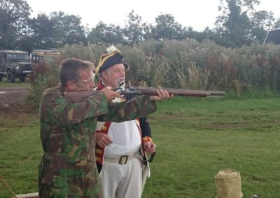 Tanks-Alot Tank Driving Experiences - 14th Century Flintlock Shooting