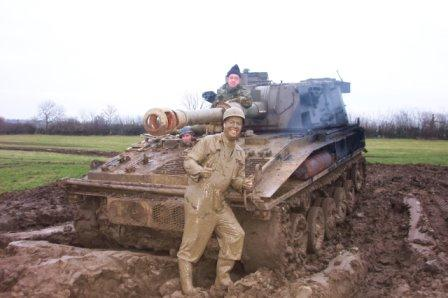 The Mud Man Tank Driving
