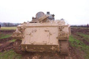 The Mud Man Tank Driving