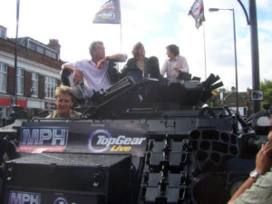 Top Gear Live Promo Tank Limo