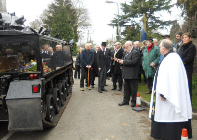 Tank Hearse Hire For Military Funerals