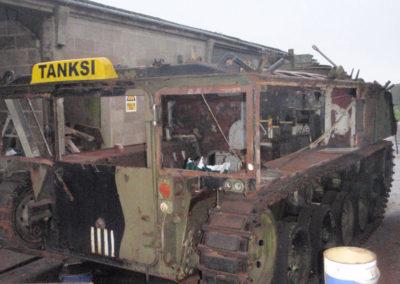 Tank Hearse restoration
