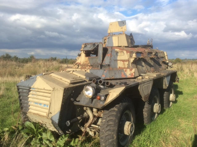 Alvis Saracen 6x6 Wheeled Apc For Sale 163 6000 Onwards