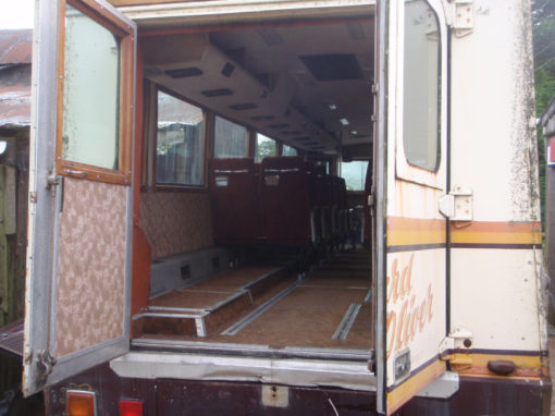 Margret Thatchers Armoured Bus For Sale