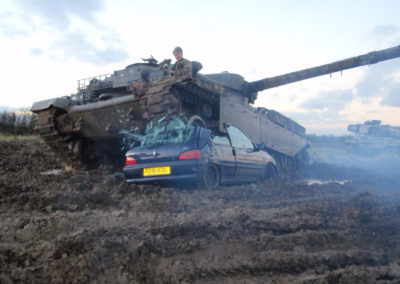 Tanks Alot Car Crushing Tank Driving Experiences in the UK