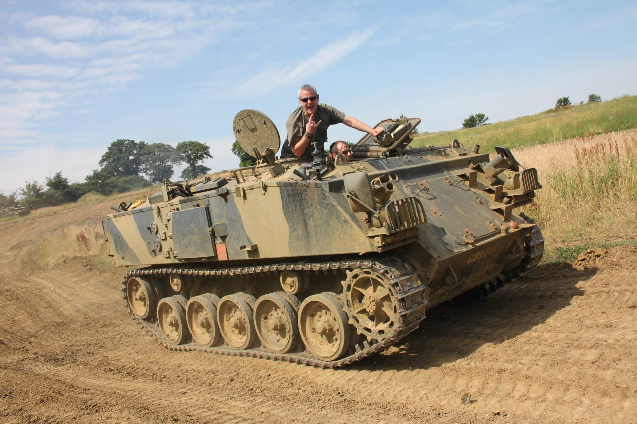 Tanks Alot Corporate Entertainment FV432 Tank Driving