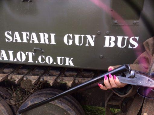 CVRT Sultan Safari Gunbus
