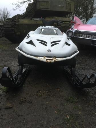 Snowmobile Ex Army Rotax 4
