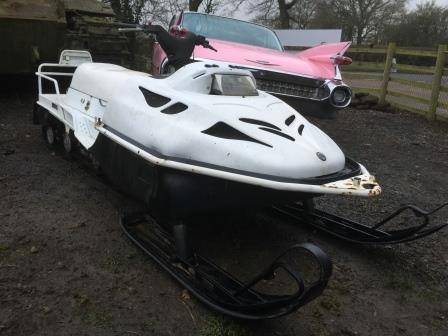 Ex-Army snowmobile for sale in Northants