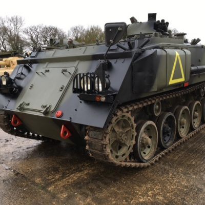 H-Licence Training, H licence,FV432 Armoured Personnel Carrier