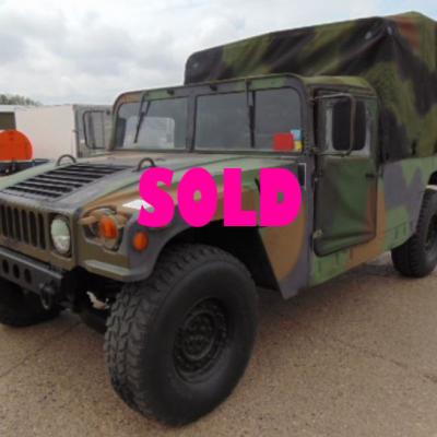 Humvee SOLD