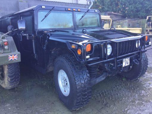 Hummer H1 Black 1