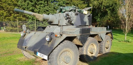 Alvis Saladin with Deactivated 76mm Gun