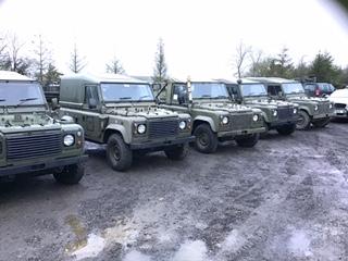 Land Rover Wolf 38874