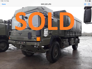 MAN HX 048670 SOLD