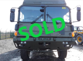 Man HX 047848 SOLD