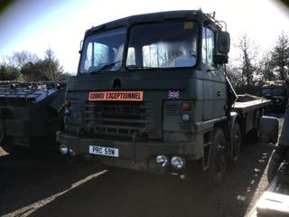 Foden 8 x 8 Truck