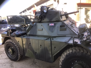 Ferret Armoured Scout car