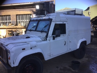 Land Rover Snatch Armoured