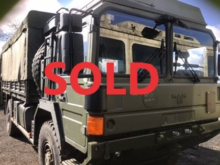 Man HX 048609 sold