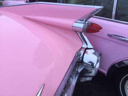 Pink Cadillac Coup de Ville