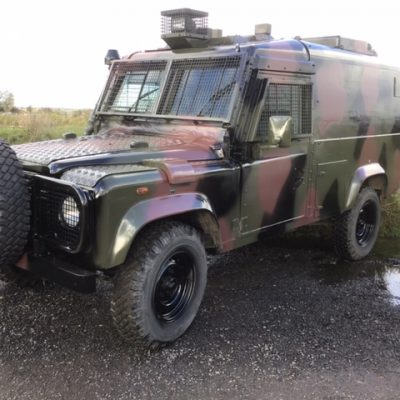 Englishman's Humvee Land Rover No. 8376 Snatch