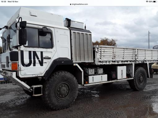 MAN HX UN 9856 TRUCK