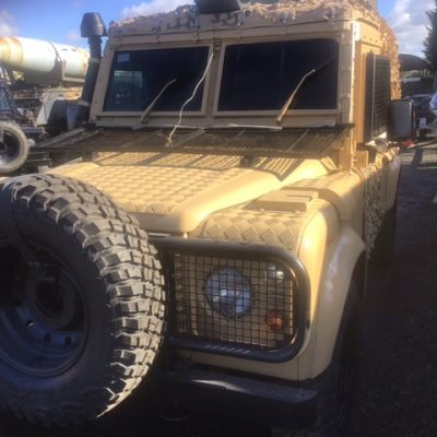 Armoured Snatch Land Rover 22111 10