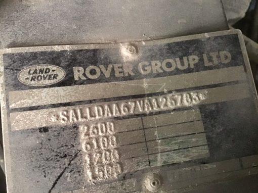 Land Rover Wolf 126783