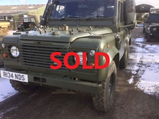 Land Rover Wolf 126783 SOLD