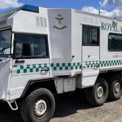 Pinzgauer 6x6 Ambulance